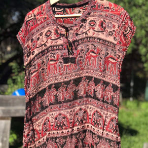 ✨ Vintage Indian gauze blouse ✨